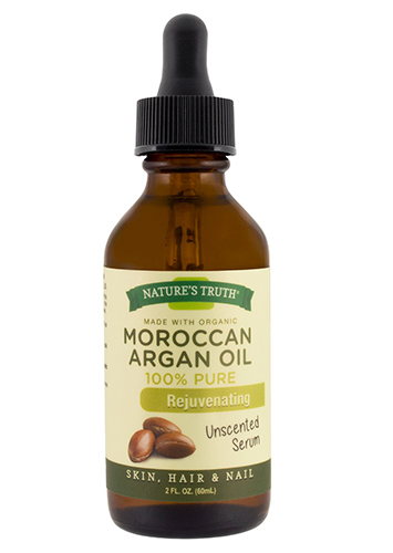 nature's truth organic rejuvenating moroccan argan oil serum For Skin/Hair/Nail