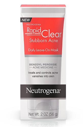 neutrogena rapid clear acne face mask