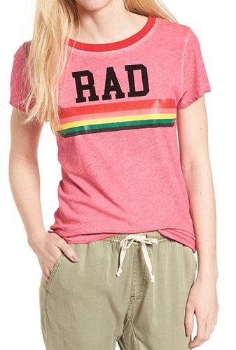Rad Rainbow Ringer Tee