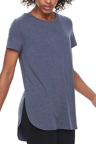 High Slit Tunic Tee