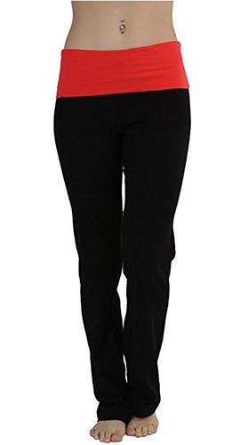 Leg Opening Yoga Pants