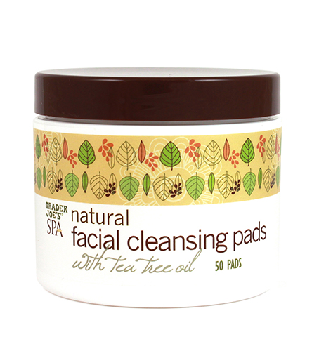 trader joes natural facial cleansing pads