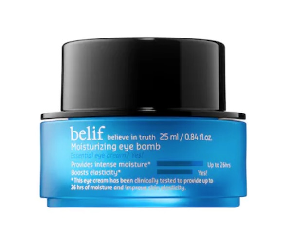 belief moisturizing eye bomb