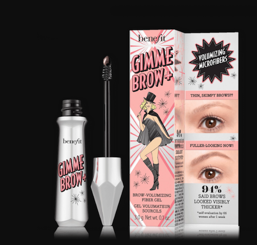 benefit cosmetics gimme brow+ volumizing eyebrow gel review