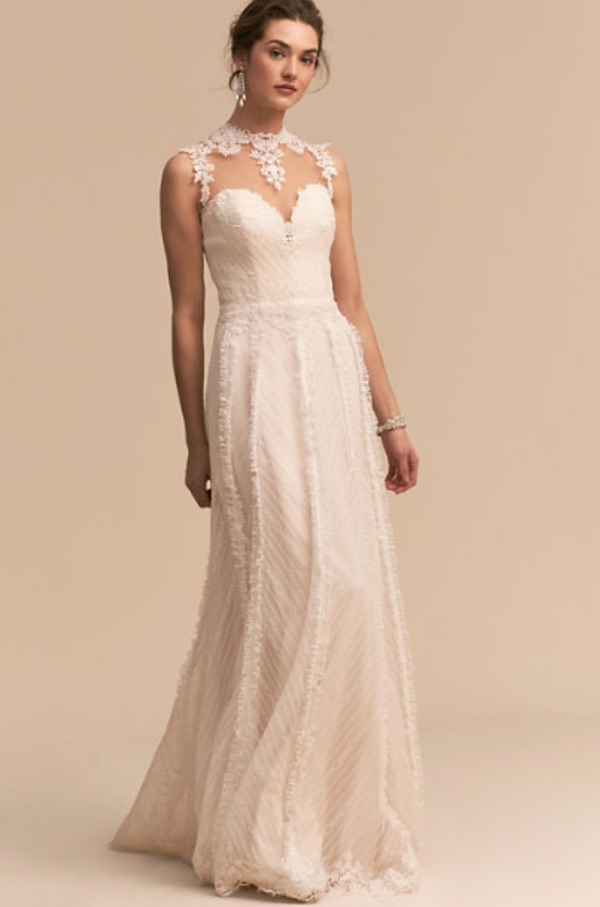 bhldn whispers and echoes nightfall gown