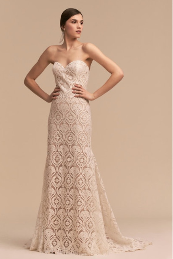 bhldn whispers and echoes lilac gown