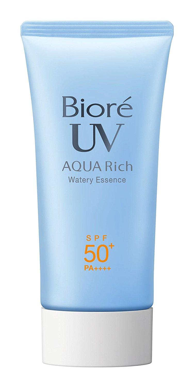 biore sarasara aqua rich watery essence sunscreen