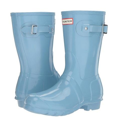 blue hunter rain boots