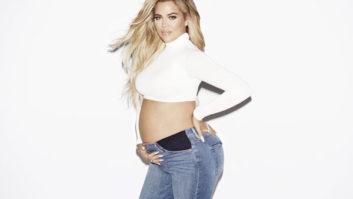 Pregnant Khloé Kardashian Launches Good Mama--Her First Maternity Denim Line!