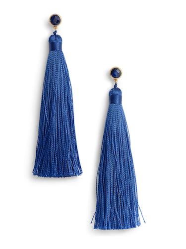 gorjana tassel earrings