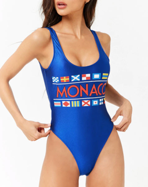 gucci looking swimsuit