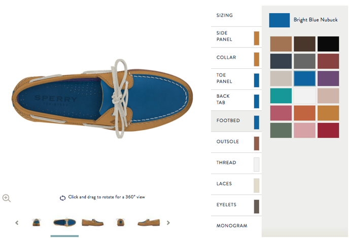customize your sperrys