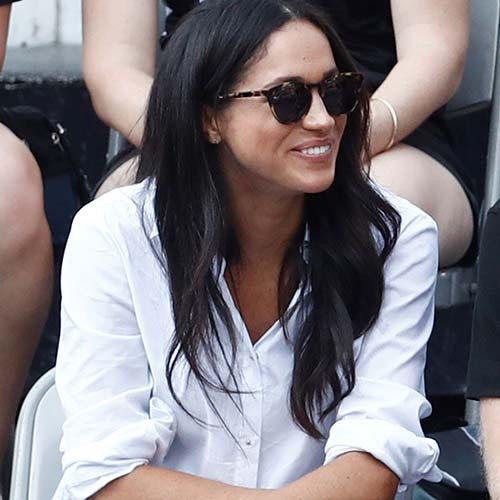 ee77ae12fd Meghan Markle s Tortoise Sunglasses Are Finally Back In Stock–After ...