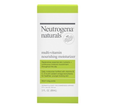 neutrogena natural multi-vitamin nourishing moisturizer