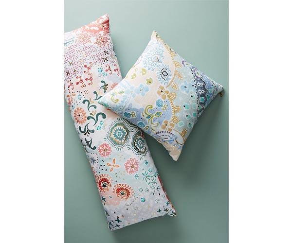 anthropologie decorative pillows