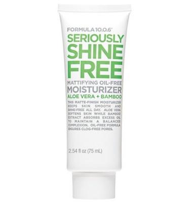 formula 10.0.6 seriously shine free moisturizer