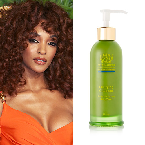 jourdan dunn tata harper purifying cleanser