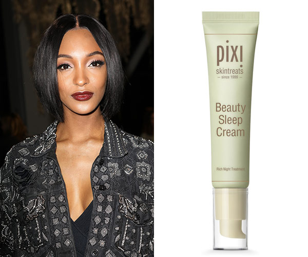 jourdan dunn pixi night cream