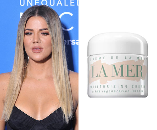 khloe kardashian la mer creme de la mer