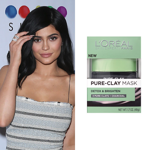 kylie jenner loreal pure clay mask