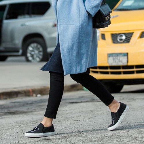 These Are The Best Slip-On Sneakers, According To Style Bloggers