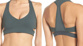 This Discounted Sports Bra Will Make You WANT to Work Out