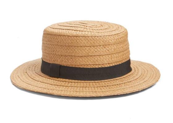 spring straw hat