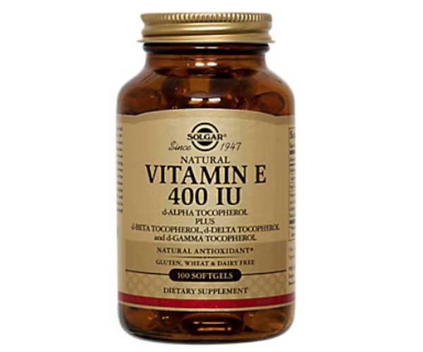 solgar vitamin e supplement