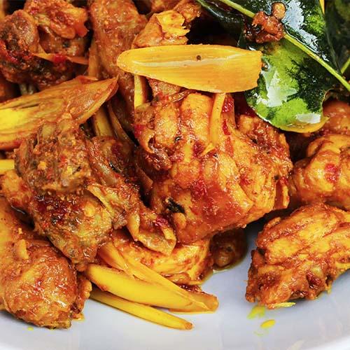 turmeric honey chicken
