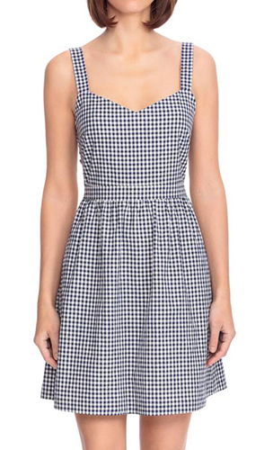 Austin Back Tie Gingham Sundress