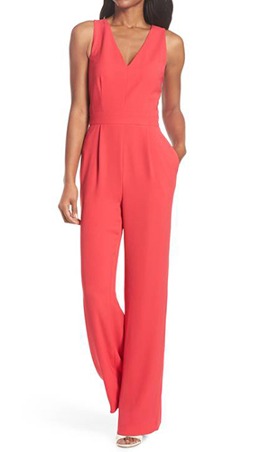 Cutout Back Jumpsuit