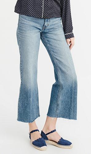 High-Rise Wide Leg Jeans