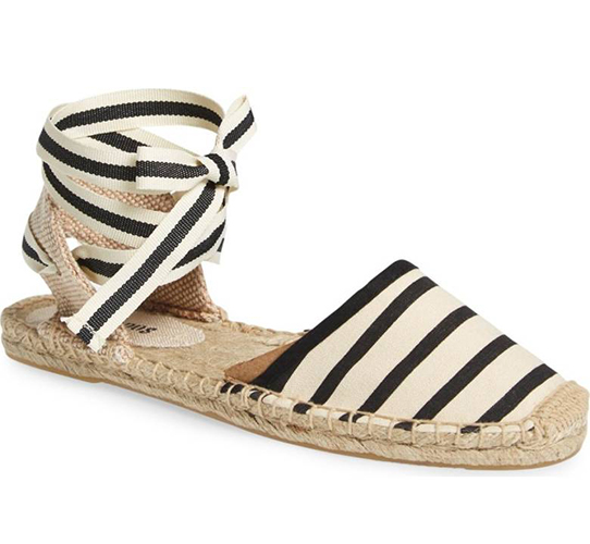 Lace-Up Espadrille Sandal