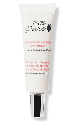 100% pure caffeine eye cream