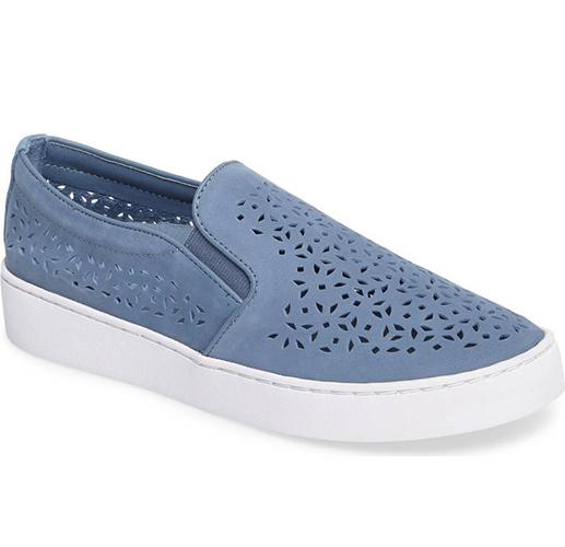 Perforated Slip-On Sneaker