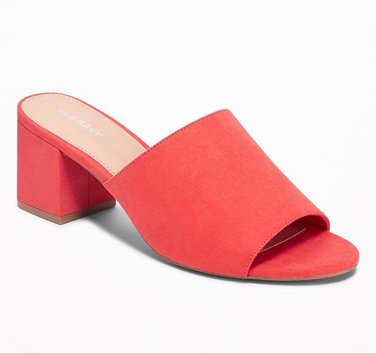 -Heel Sandals