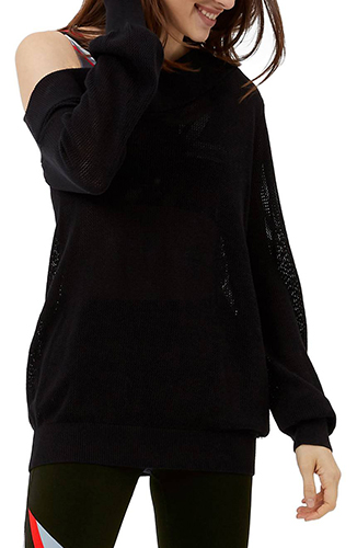 Sweat Betty Enliven One-Shoulder Sweater