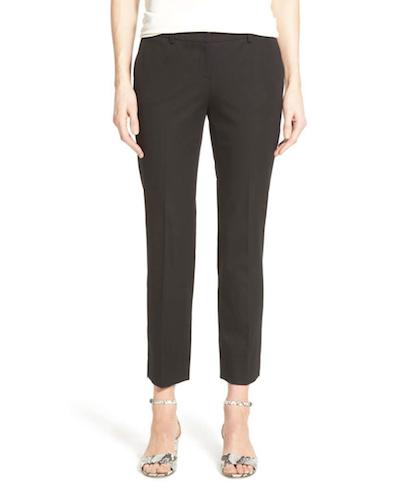 black crop work pants