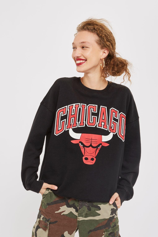 topshop bulls sweatshirt