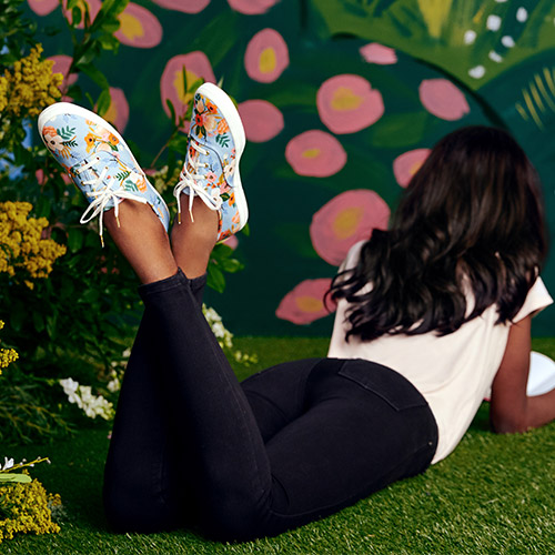 125afcfe01c We Just Found The Prettiest Sneakers Ever From Keds x Rifle Paper ...