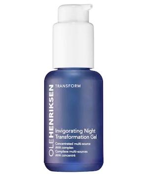 olehenrisken invigorating night transformation gel