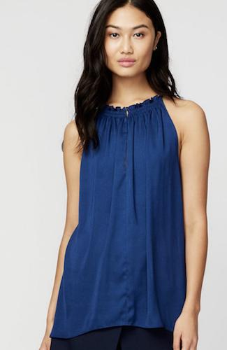 rachel roy top blue