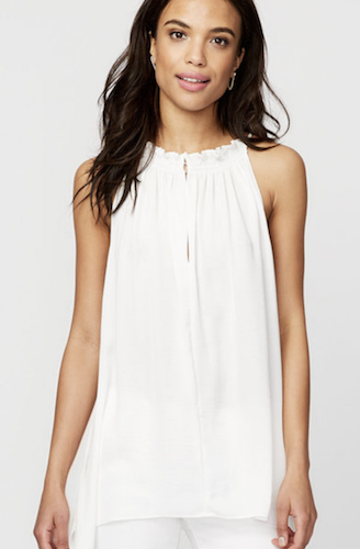 rachel roy white top