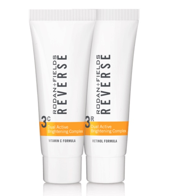 rodan + fields reverse dual active brightening complex