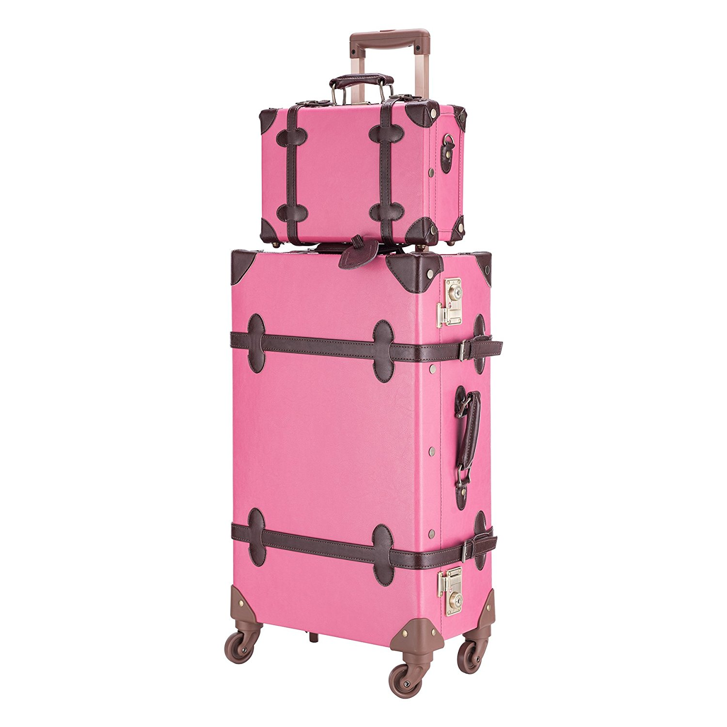 co-z premium vintage luggage sets