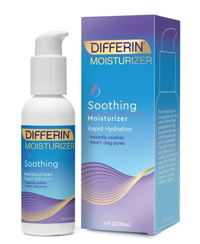 differin moisturizer