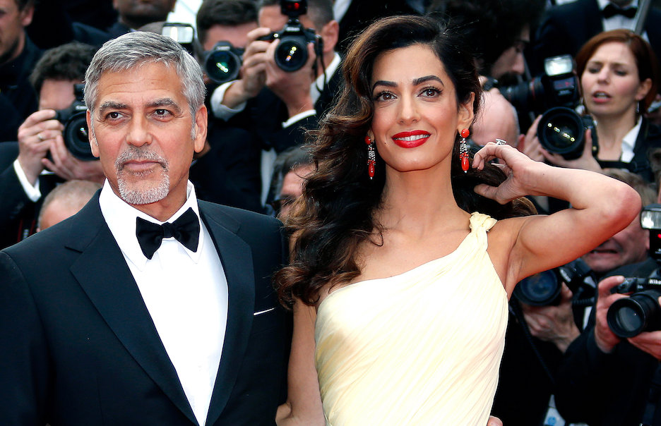 Amal Clooney Royal Wedding.Amal Clooney S Royal Wedding Dress Just Stole The Show See It Now