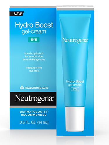 neutrogena hydrogel eye cream