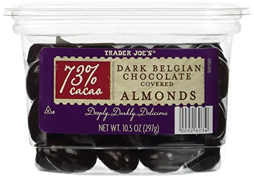 trader joes chocolate almonds