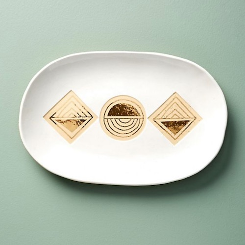 anthropologie serving tray